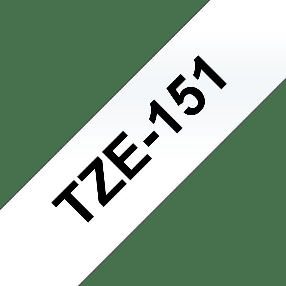 Originalna Brother TZe-151 kaseta s trakom za označevanje
