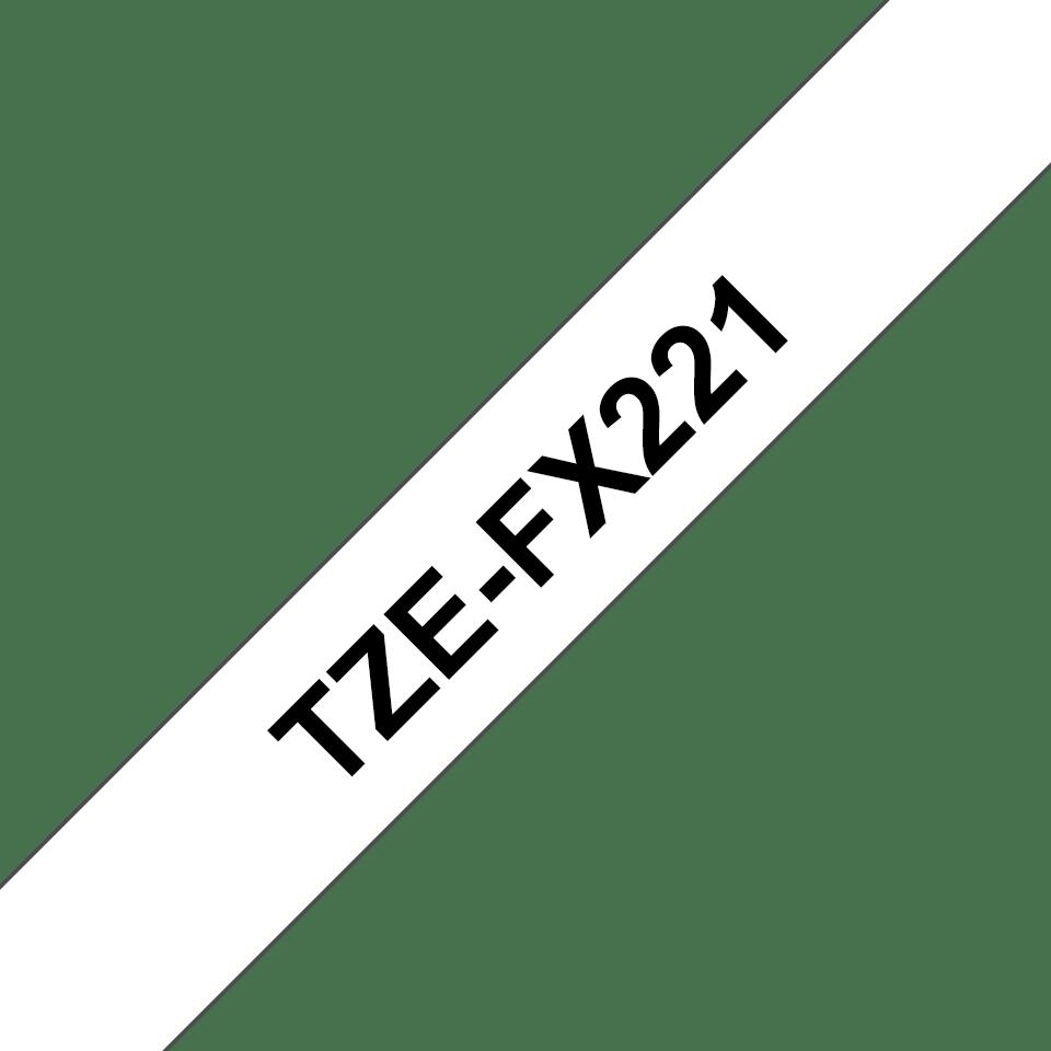 Originalna Brother TZe-FX221 kaseta s prilagodljivim ID-trakom za označevanje
