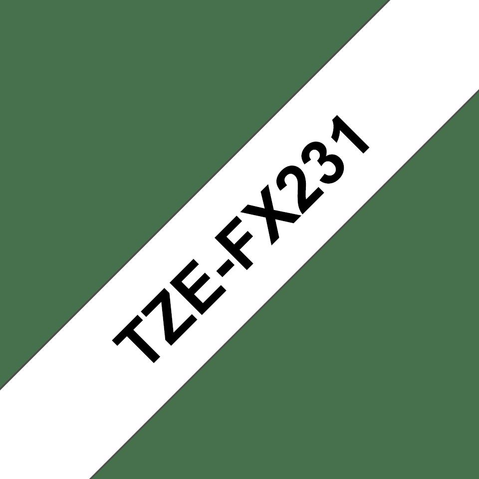 Originalna Brother TZe-FX231 kaseta s prilagodljivim ID-trakom za označevanje