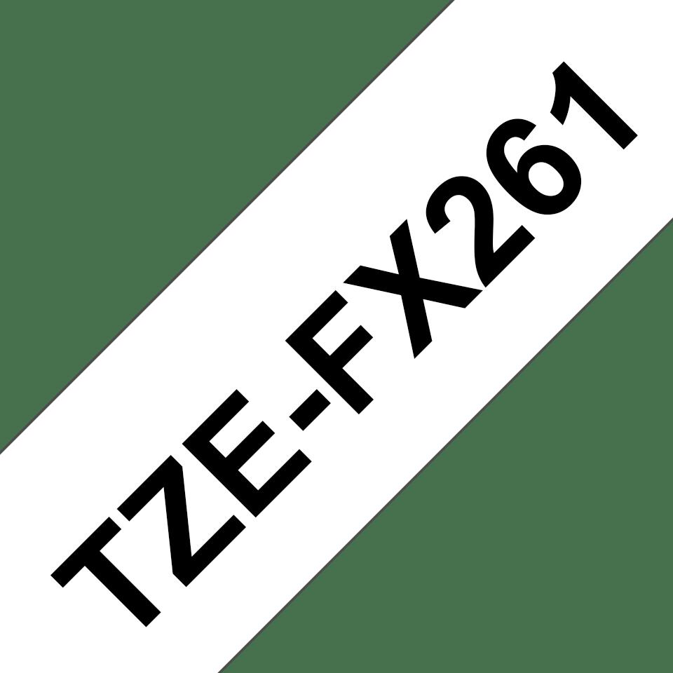 Originalna Brother TZe-FX261 kaseta s prilagodljivim ID-trakom za označevanje