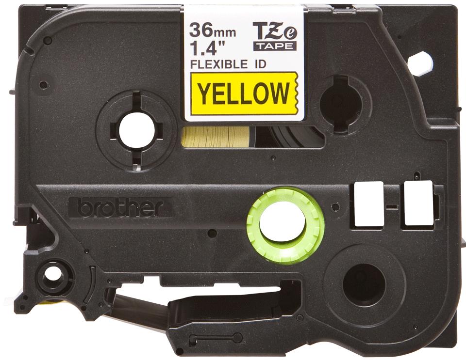 Originalna Brother TZe-FX661 kaseta s prilagodljivim ID-trakom za označevanje 2