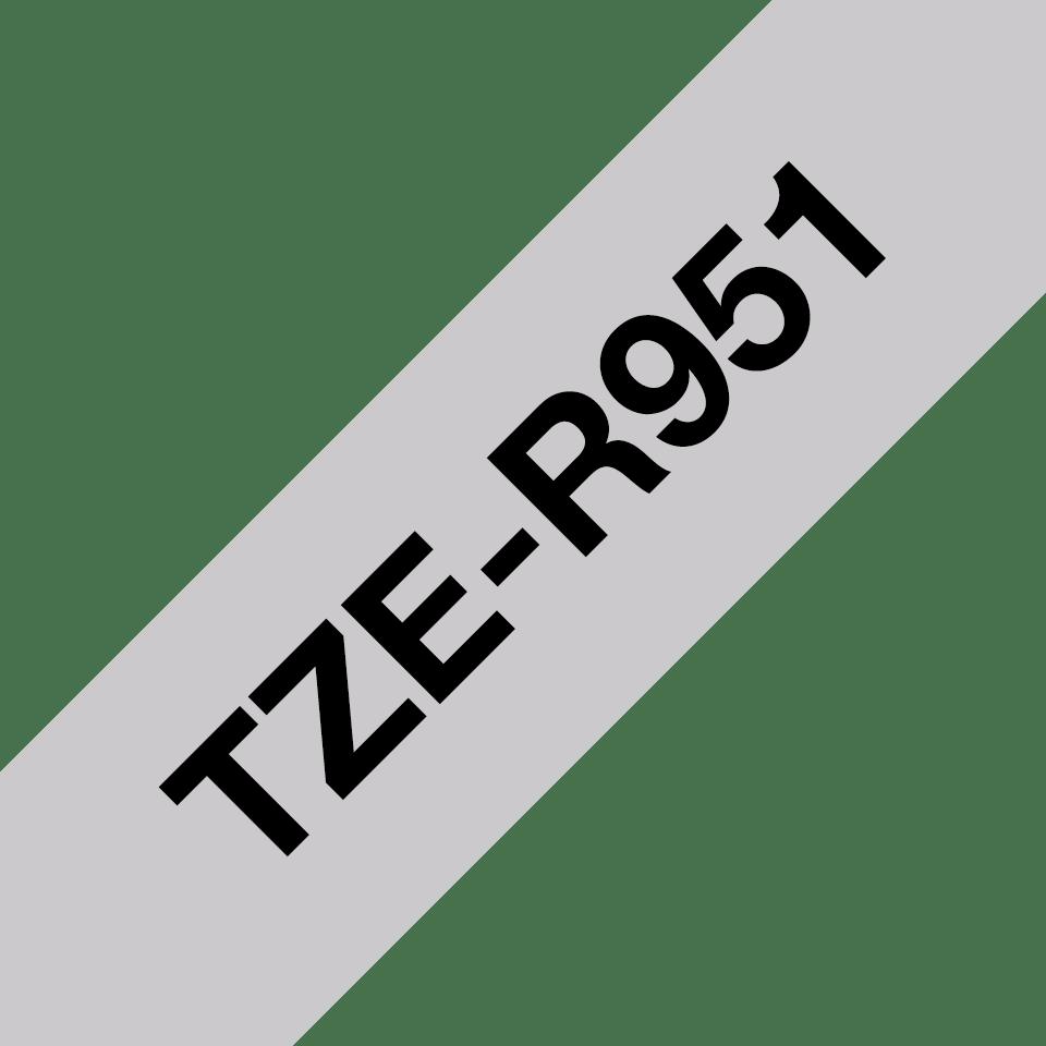 Originalna Brother TZe-R951 kaseta s satenastim darilnim trakom za označevanje