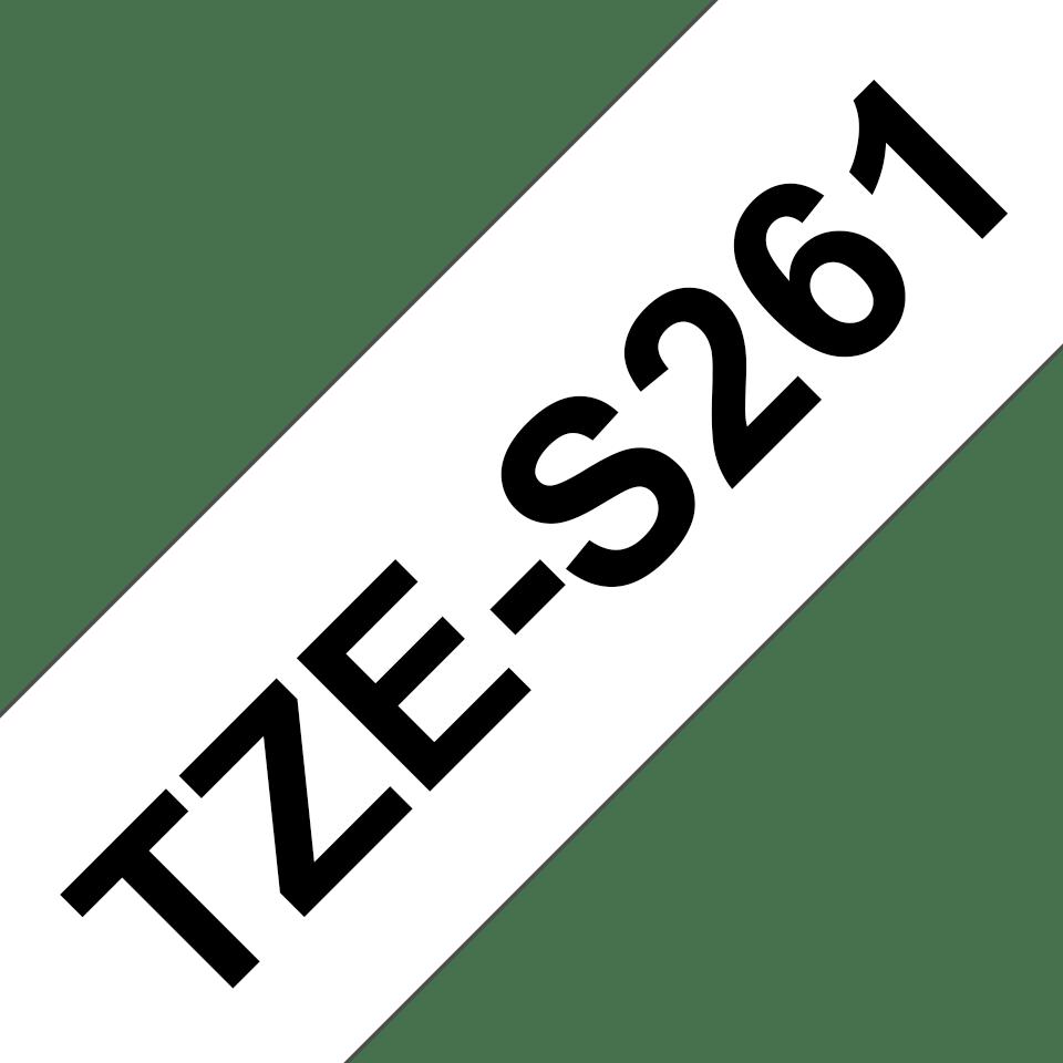 Originalna Brother TZe-S261 kaseta s trakom za označevanje z močnim lepilom
