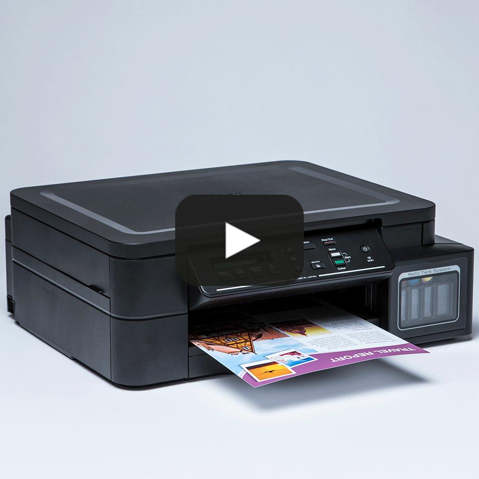 DCP-T510W InkBenefit Plus 3-v-1 brezžična barvna brizgalna večfunkcijska naprava Brother 8