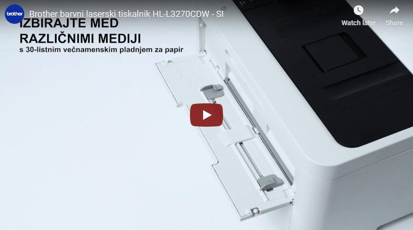 HL-L3270CDW brezžični barvni laserski tiskalnik 7